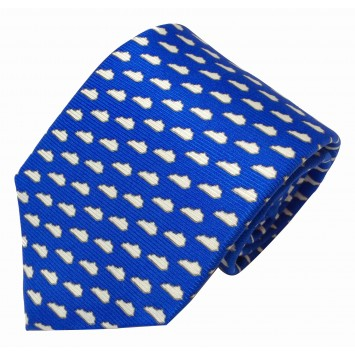 KY Gameday Blue Tie